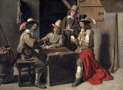 Louis Le Nain - Soldiers Playing Cards