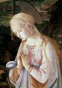 Filippo Lippi - Madonna & Child With Angels - Detail