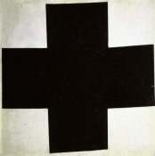 Kazimir Malevich - Black Cross