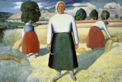 Kazimir Malevich - Female Farmers