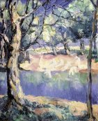 Kazimir Malevich - River In The Forest