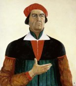 Kazimir Malevich - Self-Portrait