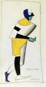 Kazimir Malevich - The Sportsman