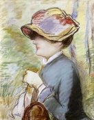 Edouard Manet - Young Woman in a Broad Hat
