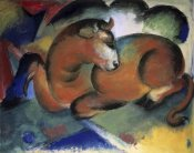 Franz Marc - A Red Bull