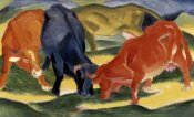 Franz Marc - Fighting Cows