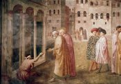 Masaccio - Healing of The Cripple