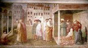 Masaccio - Healing of The Cripple and The Resurrection of Tabitha
