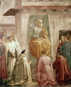 Masaccio - St. Peter In The Teacher's Chair