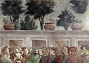 Masaccio - St. Peter Resurrects The Child of Theophilus