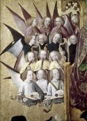 Master of Life of the Virgin - The Coronation of The Virgin (Detail): Choir of Angels