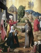Master of Swabian Altarpieces - Christ Leaving The Holy Women