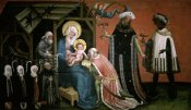 Master of the Donors - Adoration of The Magi