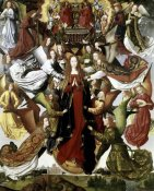 Master of the St. Lucy Legend - Mary Queen of Heaven - The St. Lucy Legend