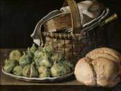 Luis Egidio Melendez - Still Life With Figs