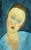 Amedeo Modigliani - Portrait of Madame Survage
