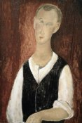 Amedeo Modigliani - Young Man With a Black Vest