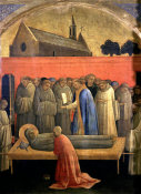 Lorenzo Monaco - Death of St. Francis of Assisi