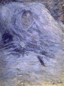 Claude Monet - Camille Monet on her Deathbed