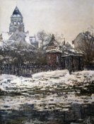 Claude Monet - Church at Vétheuil, Winter