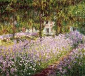 Claude Monet - Garden at Giverny