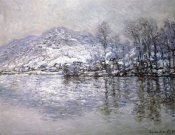 Claude Monet - The Seine at Port-Villez, Snow Effect