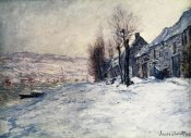 Claude Monet - Lavacourt Under Snow