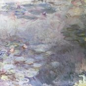 Claude Monet - Pale Water Lilies (Nympheas clairs), c. 1917-25