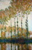 Claude Monet - Poplars on the River Epte in Autumn, 1891