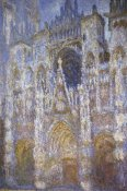 Claude Monet - Rouen Cathedral: The Portal, Morning Sun