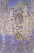 Claude Monet - Rouen Cathedral, Effects of Sunlight, Sunset