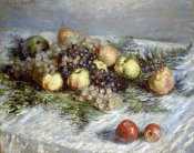 Claude Monet - Still Life with Pears and Grapes