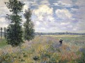 Claude Monet - The Poppy Field, Argenteuil