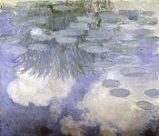 Claude Monet - Water Lilies (Nymphaeas) III