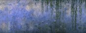 Claude Monet - Water Lilies: Morning with Willows, c. 1918-26 (center panel)