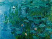 Claude Monet - Water Lilies, c.1918-21