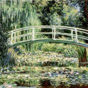Claude Monet - Les nympheas blancs (The White Waterlilies)