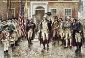 Edward Moran - Washington's Farewell To His Officers