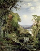 Thomas Moran - Along The Wissahickon