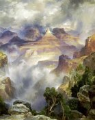Thomas Moran - Canyon Mists, Zoroaster Peak, Grand Canyon