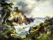 Thomas Moran - Point Lobos, Monterey, California