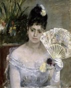 Berthe Morisot - Young Lady at a Ball