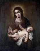 Bartolome Esteban Murillo - Virgin & Child #1