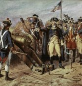 Henry Alexander Ogden - Washington Firing First Shot at Yorktown