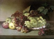 James Peale - Grapes and Apples