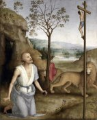 Pietro Perugino - St. Jerome In The Desert