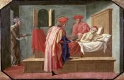 Francesco Pesellino - St. Cosmas and St. Damian Caring For a Patient