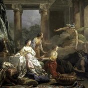 Jean-Baptiste Pierre - Mercury, Herse and Aglauros