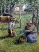 Camille Pissarro - Keeper of the Cows