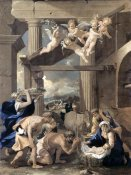 Nicolas Poussin - Adoration of The Shepherds